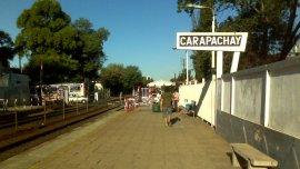 La estación Carapachay donde ocurrió el robo