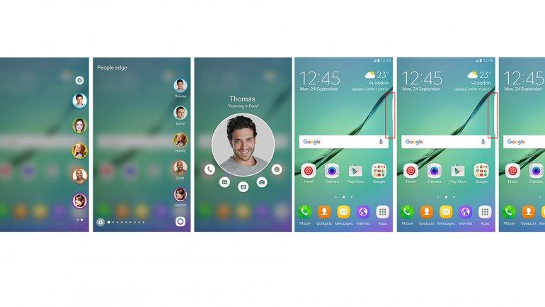 Android 6 y las mejoras en la pantalla del Galaxy S6 edge