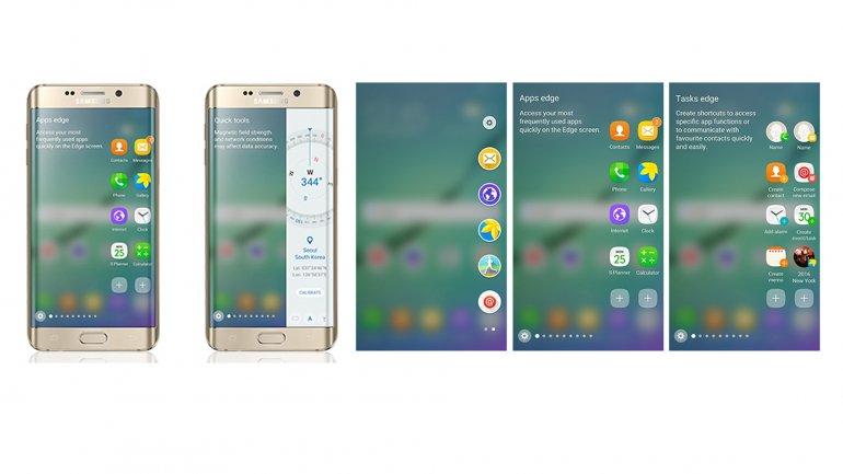 Android 6 mejora la pantalla del Galaxy S6 edge