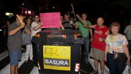 Los vecinos de la Ciudad y el Gran Buenos Aires cortaron el tránsito en múltiples oportunidades a raíz de los apagones.