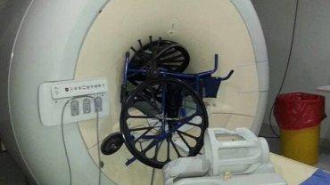 El partido de Sabatella dijo que fue el daño al resonador magnético del Hospital Posadas fue por un error