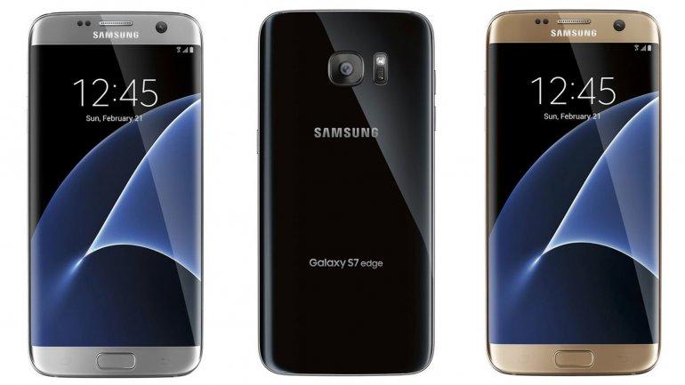 Plateado, negro y dorado, los colores del Galaxy S7