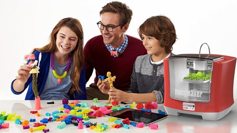 La impresora ThinkMaker 3D de Mattel y Autodesk