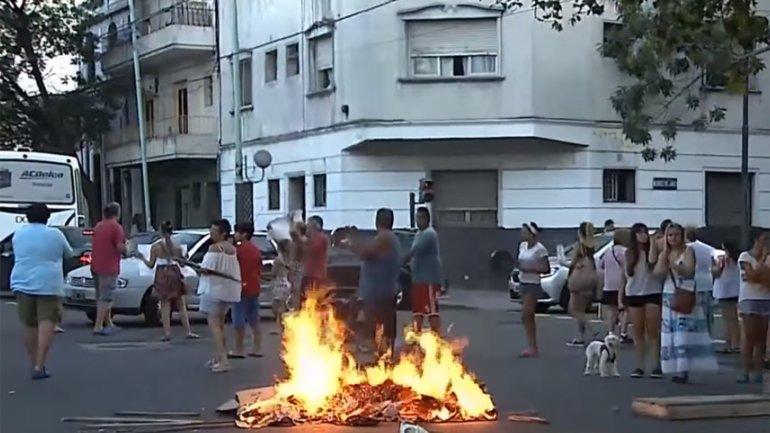 Protestas en Caballito