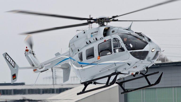 Así es el modelo deAirbus Helicopters EC145 - imagen de archivo