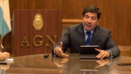 Ricardo Echegaray en la Auditoría General de la Nación