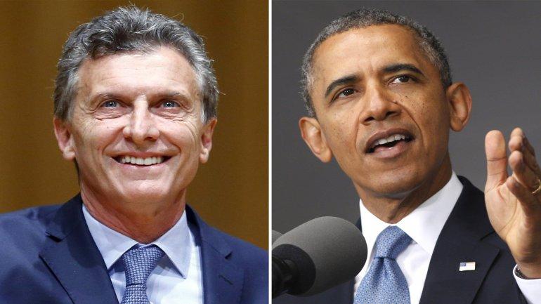 Mauricio Macri y Barack Obama se verán las caras en poco más de 10 días en la Argentina.