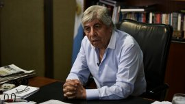 Hugo Moyano, jefe de la CGT Azopardo y líder el gremio camioneros