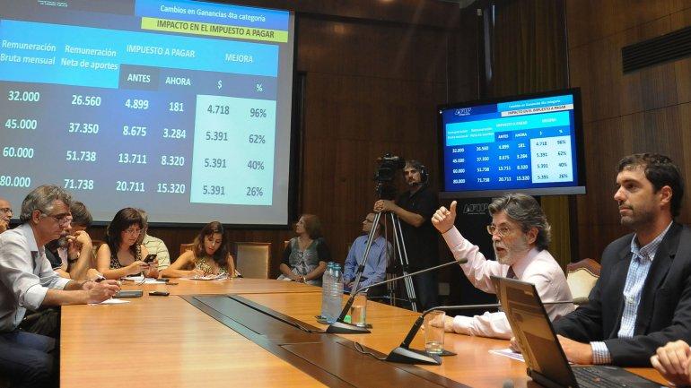 El titular de la AFIP, Alberto Abad, había anticipado que los cargos retroactivos se liquidarán de modo gradual para no afectar el ingreso de bolsillo