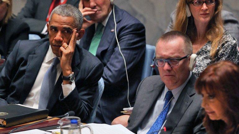 Barack Obama y Cristina Kirchner, en el Consejo de Seguridad de la ONU.