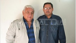 Con camisa de jean, el narcofuncionario Pedro Ramón Bareiro