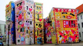 Happy Rizzi Home es un edificio ubicado en Brunswick, Alemania.