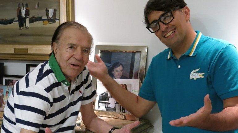 Que yo recuerde no he estado con una travesti. Creo (risas), bromeó Carlos Menem.
