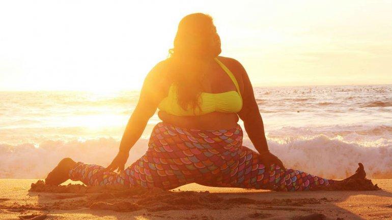 Valerie Sagun comenzó a hacer yoga hace cuatro años