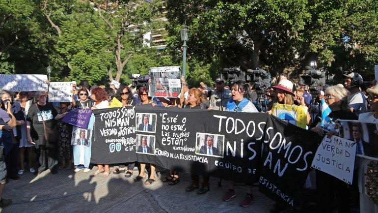 Imágenes de la movilización que se hizo el 18 de febrero, a un año de la denominada Marcha del silencio