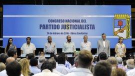 En el Congreso partidario, las facciones del peronismo acordaron encolumnarse detrás de José Luis Gioja
