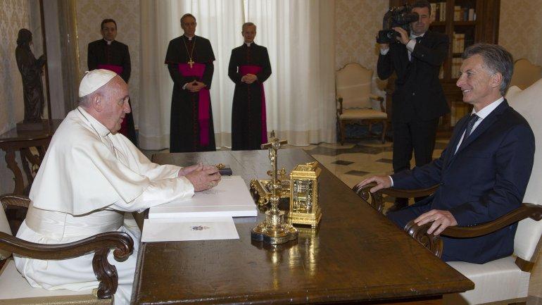 Tanto el Gobierno como el Vaticano destacaron el valor de la reunión en la Santa Sede.
