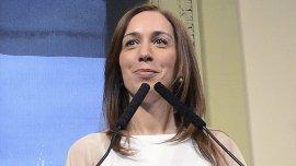 María Eugenia Vidal abogó por un debate legislativo sobre el aborto