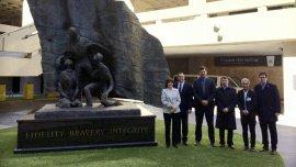 En los EEUU, la ministra Patricia Bullrich y el secretario Eugenio Burzaco se reunieron con los jefes de la DEA y el FBI.