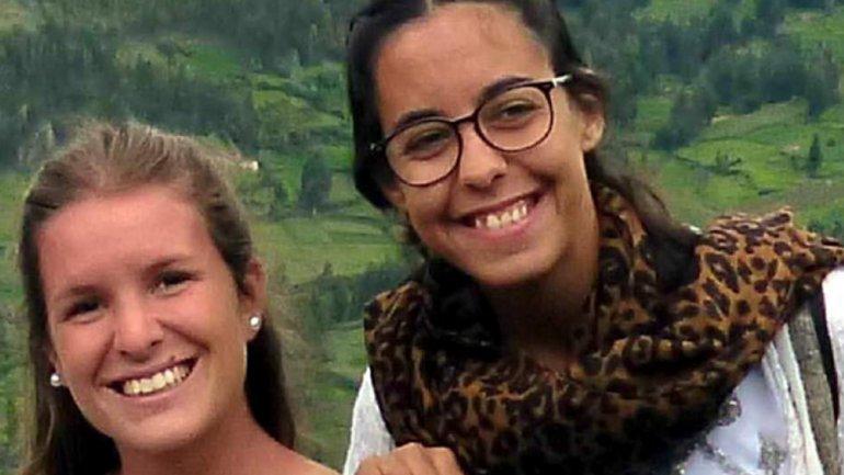 Marina Menegazzo y María José Coni, dos turistas argentinas de 21 y 22 años, fueron halladas muertas el domingo pasadoen el balneario de Montañita