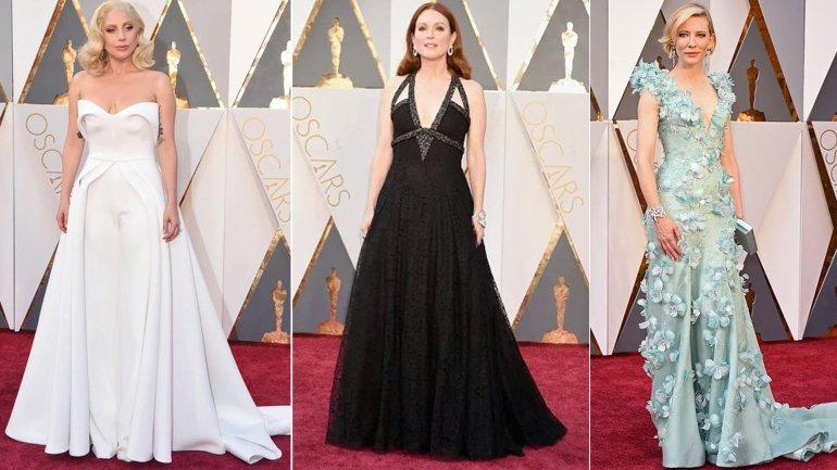 Lady Gaga, Juliane Moore y Cate Blanchett: espléndidas