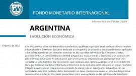 La Argentina avanza hacia la normalización de las relaciones con el FMI, como país miembro aceptará las revisiones del Art. IV