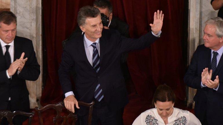 Mauricio Macri pidió al Congreso aprobar leyes parafortalecer la transparencia y los órganos de control del Estado.