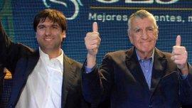 Diego Bossio junto a José Luis Gioja (Imagen de archivo)