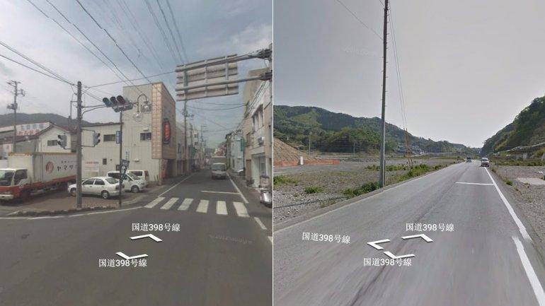 El antes y después enOnagawa