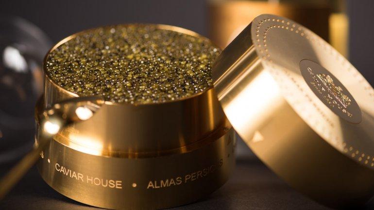 El caviar de Almas cuesta alrededor de 30 mil dólares el kilo