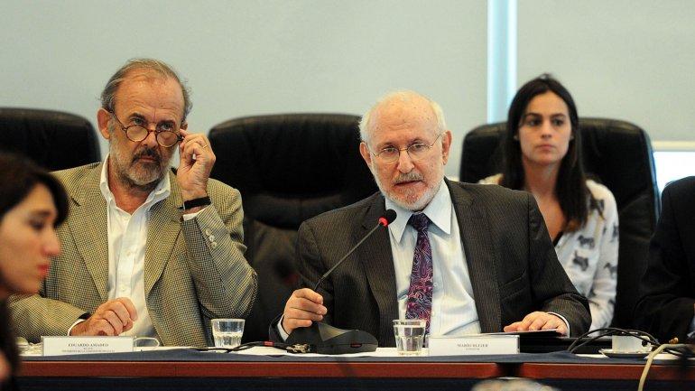 Mario Blejer ante los diputados