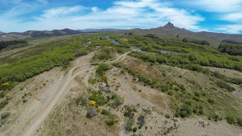 El Río Chimeuín es hoy un paisaje privado.