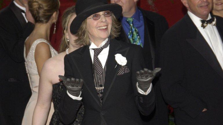 La actriz Diane Keaton fue una de las pioneras en usar un look masculino