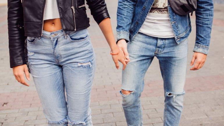 Hombre y mujer, ya no parece haber diferencia a la hora de vestir