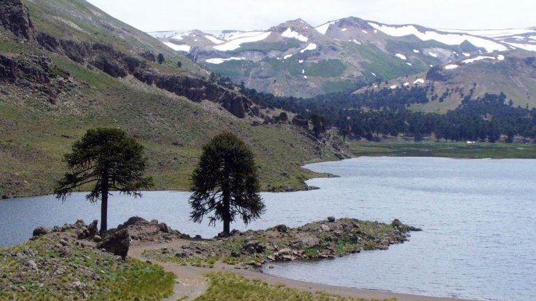 La laguna Los Carrizos, cercada por un sobrino de Pinochet.
