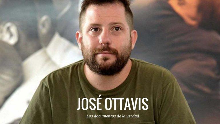 La portada del nuevo sitio web de José Ottavis