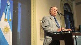 El ministro de Energía, Juan José Aranguren, en conferencia de prensa (Imagen de archivo)