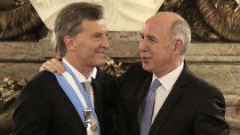 Mauricio Macri y Ricardo Lorenzetti, con buena sintonía
