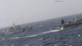 El operativo disuasorio fue realizado por el buque guardacostas GC- 28 Prefecto Derbes.