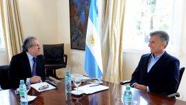 Mauricio Macri recibió a Luis Almagro, secretario general de la OEA, en la Quinta de Olivos
