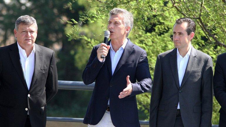 El presidente Mauricio Macri encabezó un acto en la ciudad de Resistencia
