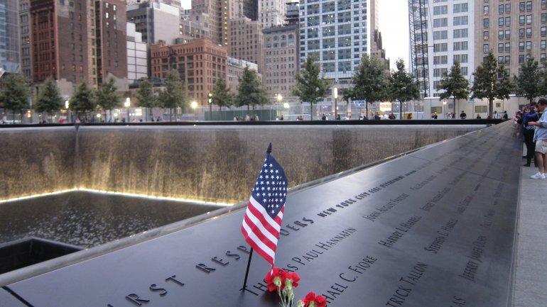 Las fuentes en homenaje a las víctimas del 9/11