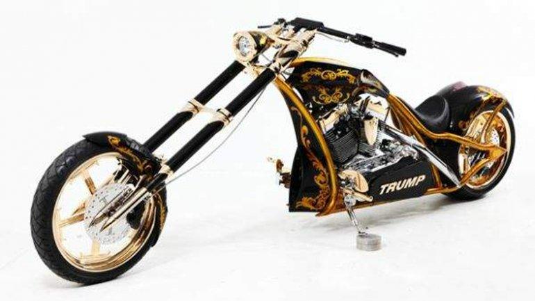 Resultado de imagen de donald trump moto
