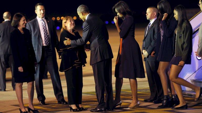 Así será el primer día de la familia Obama en el país