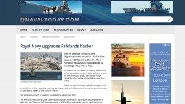 La inversión es parte de un plan para modernizar la infraestructura de Malvinas.