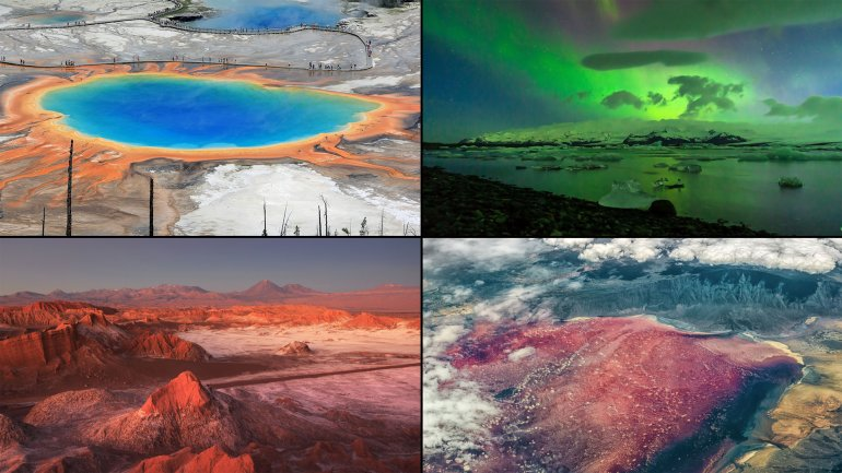 Cinco lugares mágicos de la Tierra que parecen de otro planeta