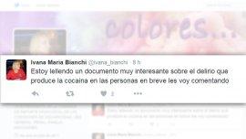 La diputada Ivana María Bianchiescribió lellendo en lugar de leyendo y Twitter no perdonó