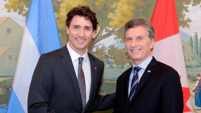 Resultado de imagen de Agasajo al primer ministro de Canadá.