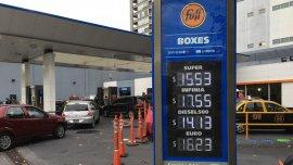 Las naftas suben entre un 8% y un 10% desde mayo