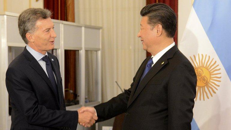 Mauricio Macri se reunió con su par chino Xi Jinping en la Cumbre de Seguridad Nuclear en Washington